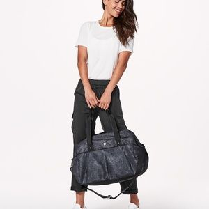 Lululemon Large Duffle Gym Bag